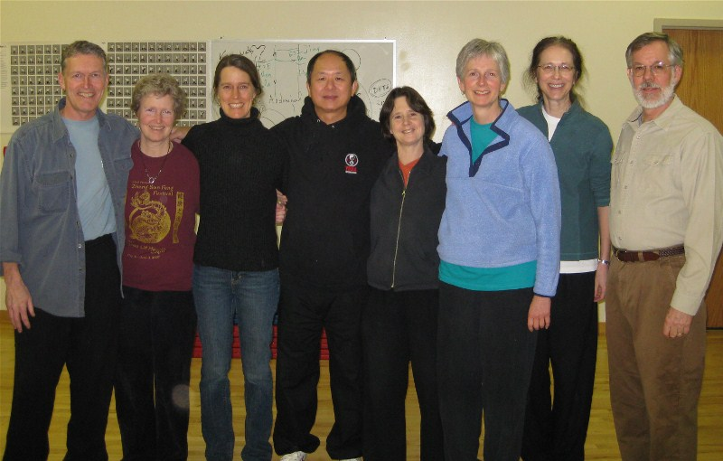 ymaa group with master yang 2009